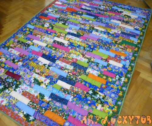 Лоскутное одеяло Ленты